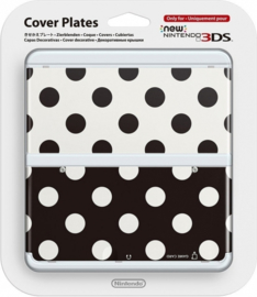 New Nintendo 3DS Cover Plates - Polka Dots (New)