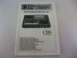 CBS Coleco Vision Expansion Module #1 *Manual* (CV)