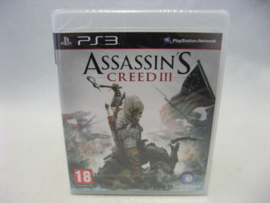 Assassin's Creed III (PS3, Sealed)