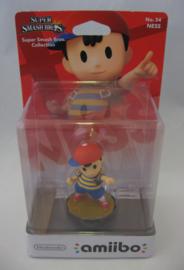 Amiibo Figure - Ness - Super Smash Bros (New)