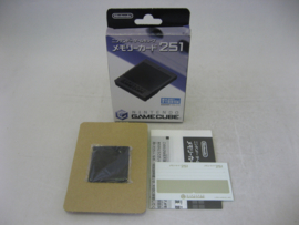 Original GameCube Memory Card 251 Blocks incl. Stickers (JAP, Boxed)