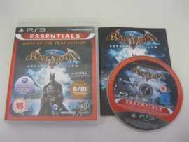 Batman Arkham Asylum - Game of the Year Edition (PS3) - Essentials -