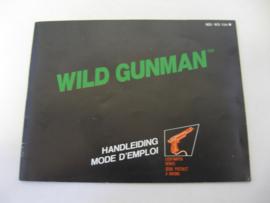 Wild Gunman *Manual* (FAH)