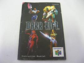 Dark Rift *Manual* (EUR)