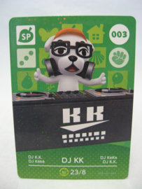 Animal Crossing Amiibo Card - Series 1 - 003: DJ KK