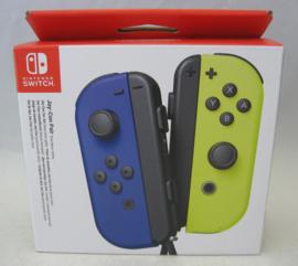 Nintendo Switch Joy-Con Pair - Neon Blue / Neon Yellow (New)