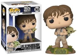 POP! Luke Skywalker & Yoda - Star Wars: The Empire Strikes Back 40th (New)