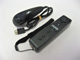 Wii Remote incl. Motion Plus + Nunchuck 'Black'