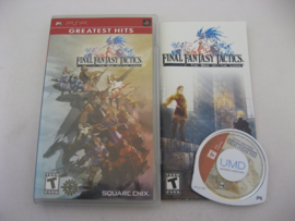 Final Fantasy Tactics: The War of the Lions - Greatest Hits - (USA)