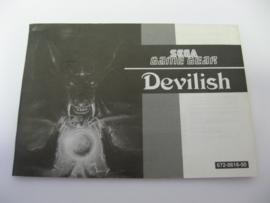 Devilish *Manual* (GG)