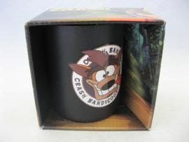 Crash Bandicoot - Crash Black Steel Mug - Numskull (New)