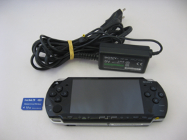 PSP Slim 2004 'Piano Black' incl. 1GB Memory Stick