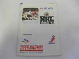 NHL Hockey '94 *Manual* (NOE)
