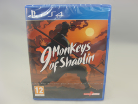 9 Monkeys of Shaolin (PS4, Sealed)