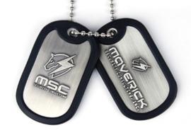 Metal Gear Rising Dog Tags 'Maverick' (New)