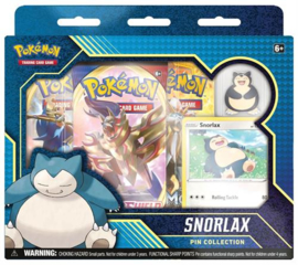 Pokémon TCG: Snorlax Pin Collection (New)