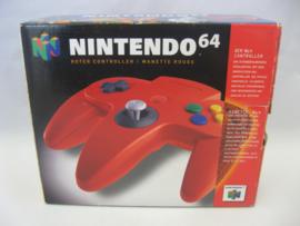 Original N64 Controller 'Red' (Boxed)
