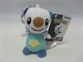 "Pokemon - Oshawott - 3.5"" Plush Keychain - Tomy (New)"