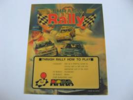Thrash Rally Mini Marquee (MVS)