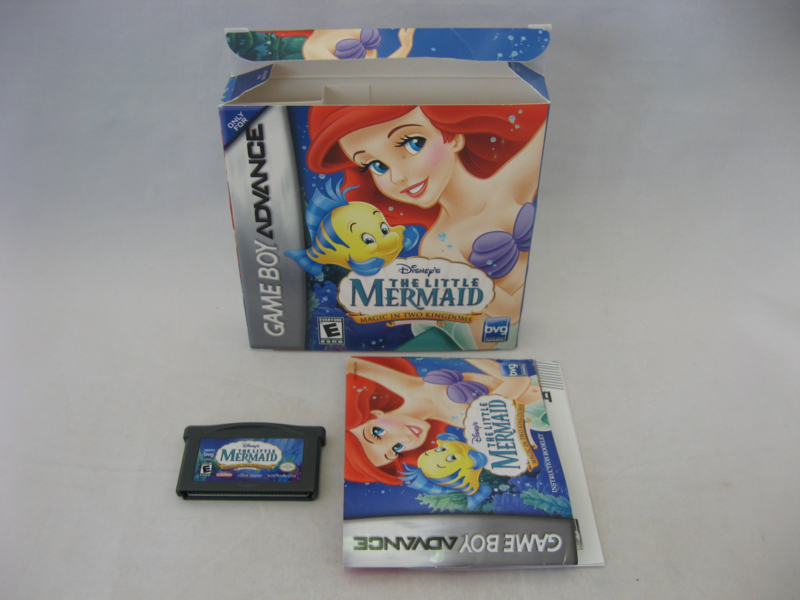 Disney's The Little Mermaid - Magic in Two Kingdoms (USA, CIB)