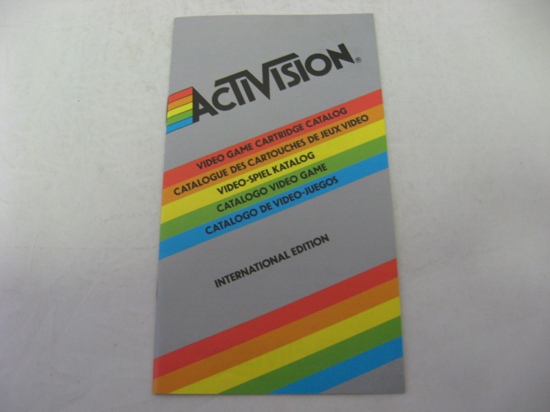 Activision Video Game Catalog - International Edition