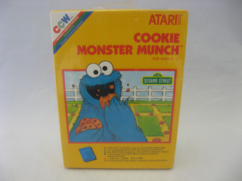 Cookie Monster Munch (CIB, Sealed)