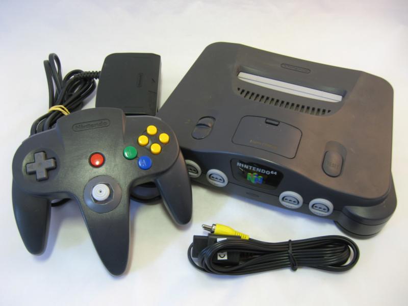 Nintendo 64 Console Set