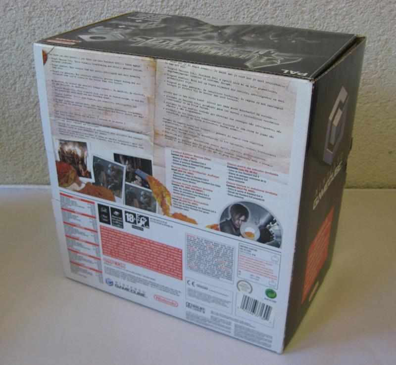 GameCube Console 'Resident Evil 4 Limited Edition Pak' Set