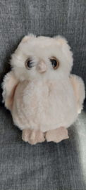 Pluche knuffel uil Clever Blanca