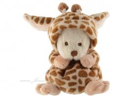 Verkleed knuffelbeertje Ziggy Giraffe