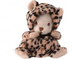Verkleed knuffelbeertje Ziggy Leopard