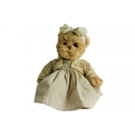 Pluche teddybeer Pretty Rose