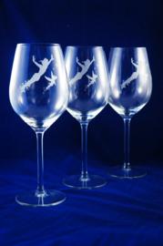 Glas Gegraveerd