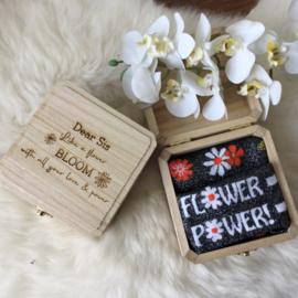 Geschenkbox Flower Power