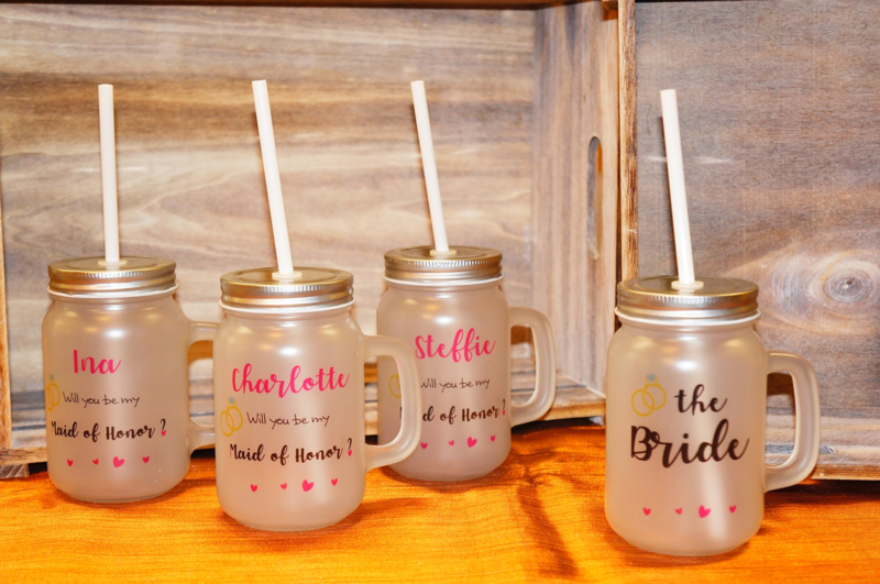 Mason Jar Bridesmade