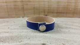 Leren Armband, Blauw