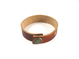 Leren Armband, Grote Letters