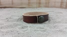 Leren Armband, Kleur Licht Bruin