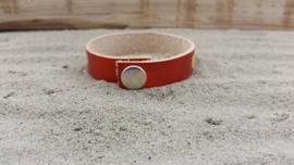Leren Armband, Oranje