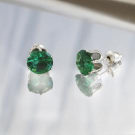 heldere oorknopjes, Smaragdgroen