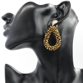 party drops oorbellen Gold