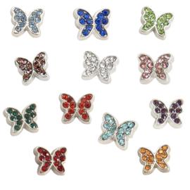 charms vlinder geboortesteentjes