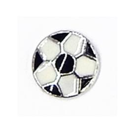 voetbal, charm voor in het medaillon