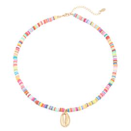 Happy summer necklace