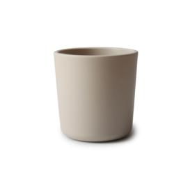 Mushie cups vanilla