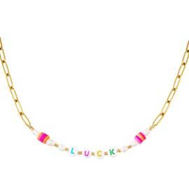 Summer luck necklace