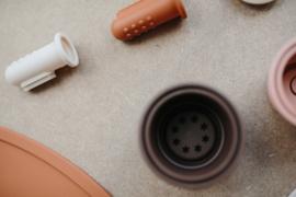 Mushie tooth brush sand & clay
