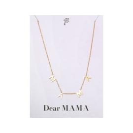 Dear mama necklace