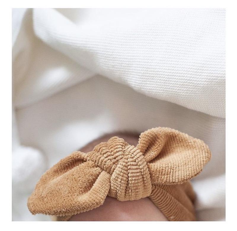 Haarband Camel rib medium
