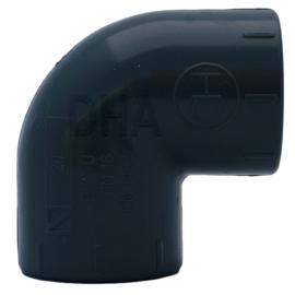 PVC knie 16 mm 90 graden